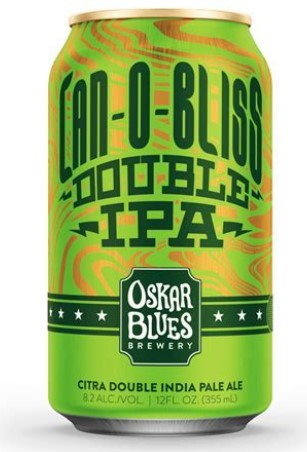 OSKAR BLUES DOUBLE CAN‐O‐BLISS IMPERIAL IPA