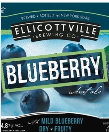 Ellicottville Brewing, Blueberry Wheat
