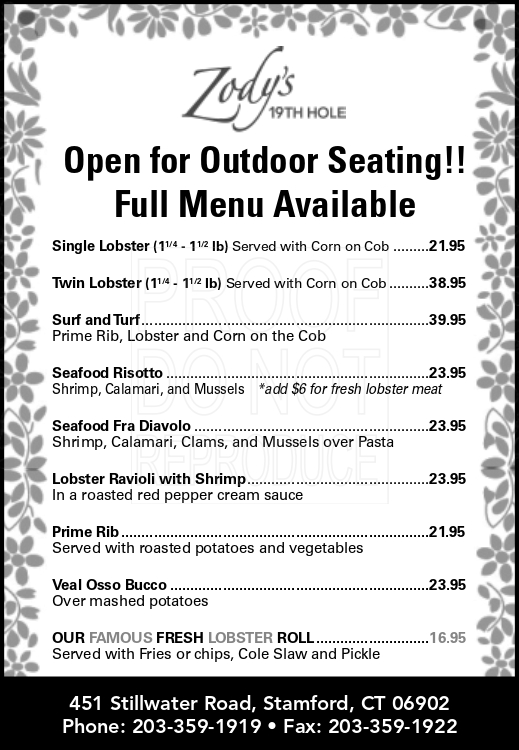 curbside pickup menu - click for readable PDF