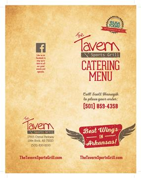 Catering Front