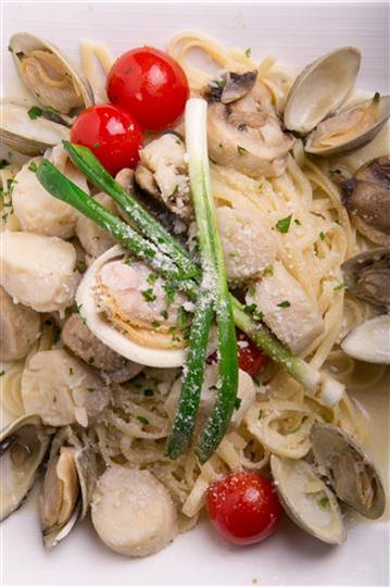 pasta with clams and clam sauce