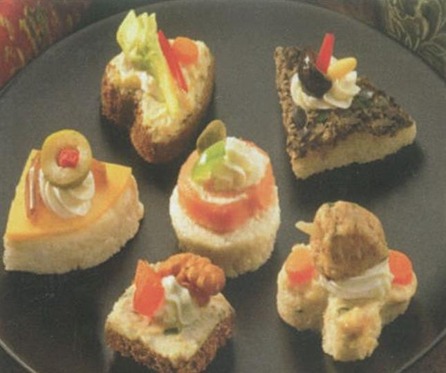 Harbor caterers best caterers event planners in port for Cold canapes
