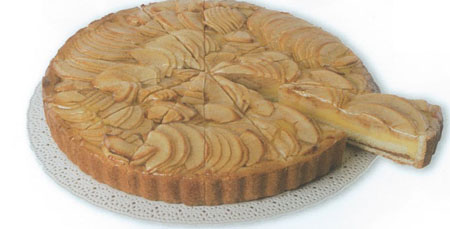 Apple Cream Crostata