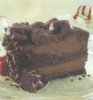 Choc'Late Lovin' Spoon Cake A giant mouthful of chocolate pudding between two layers of dark moist chocolate drenched cake.
