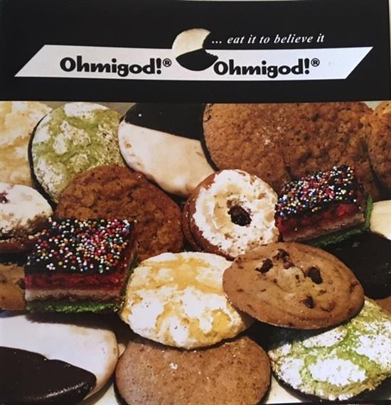 Poster of assorted Ohmigod cookies