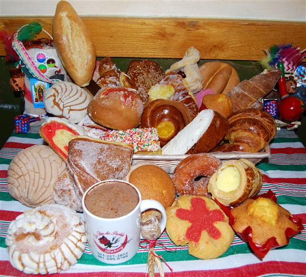 assortment of bakery cookies displayed on a table