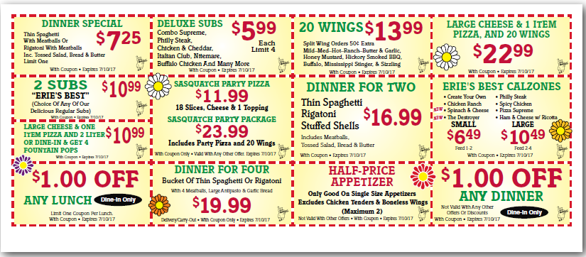 below are all of the valerio erie pa coupons 2017 for october 2017