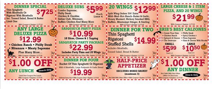 alfees coupons erie pa