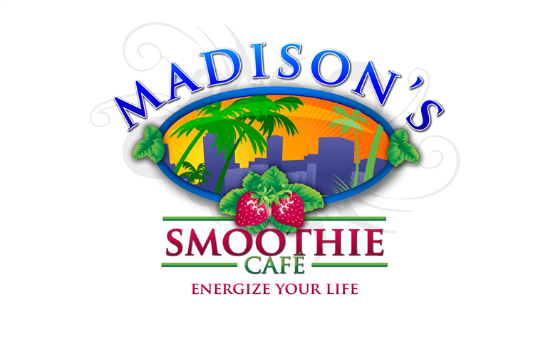 Madison's smoothie cafe energize your life