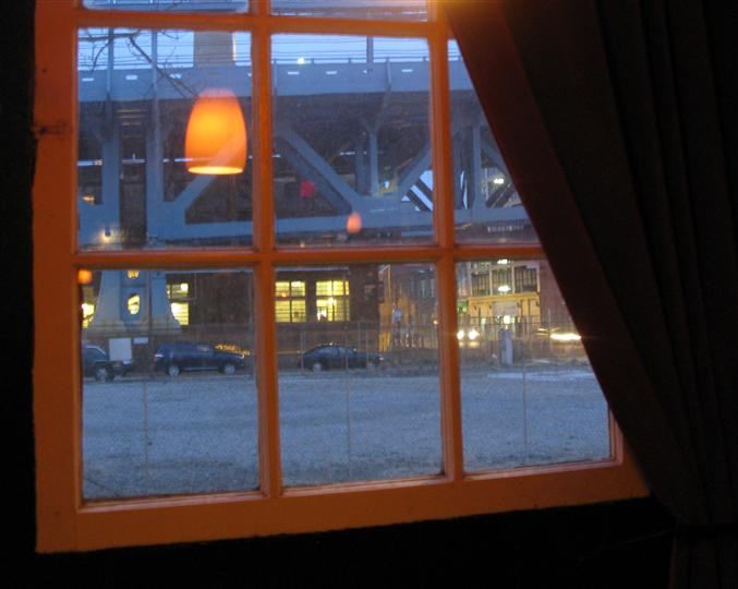 interior window showcasing the outdoors