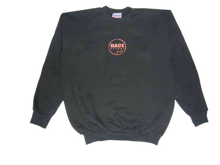 the race street cafe long sleeve t shirt with logo branded on the front