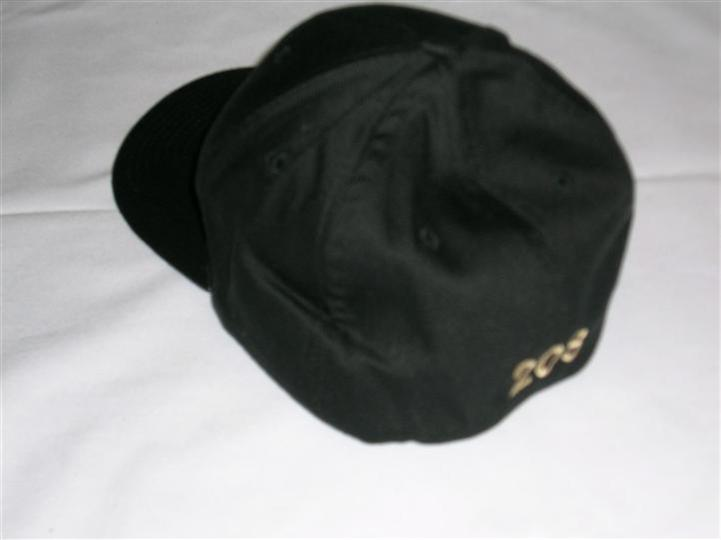 the race street cafe hat with the logo branded on the front