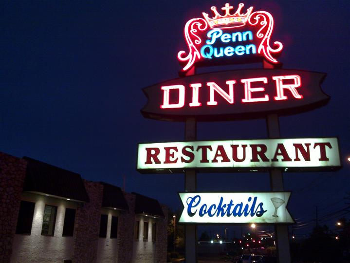 Penn Queens Diner sign