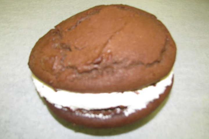 Traditional whoopie pie
