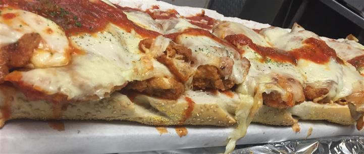 Chicken parm hero