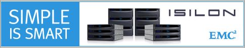 Simple is smart. Isilon EMC