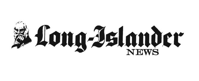 The Long-Islander News, logo with vintage face in ink