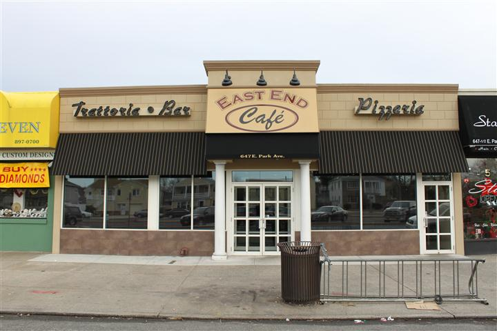 exterior extrance to east end cafe