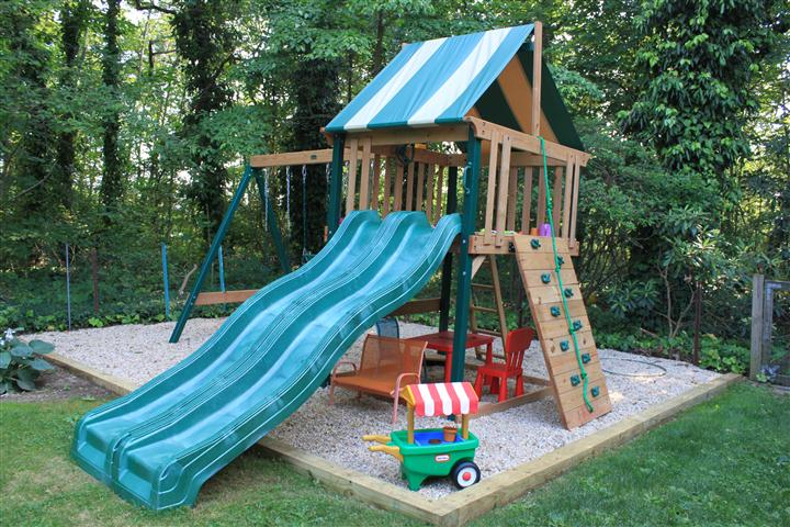 ---- Swing Set Installation (large)