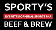 Sporty's Beef & Stew;  Everett's Original Sports Bar