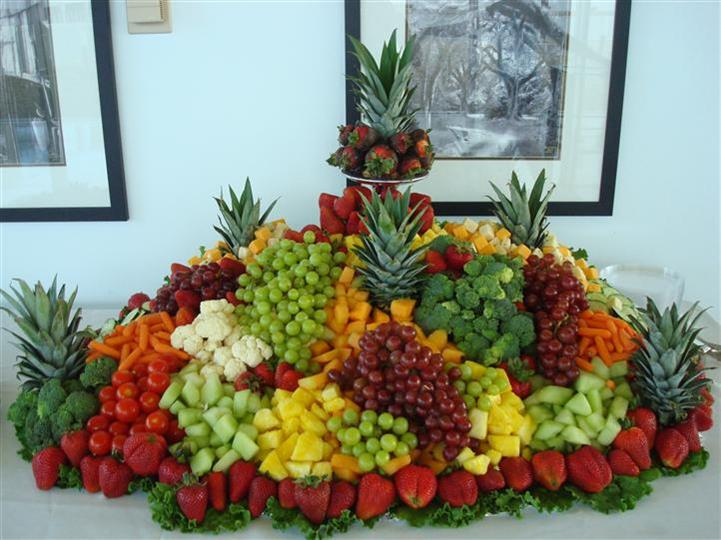 assortment of fruit decorated together in a group