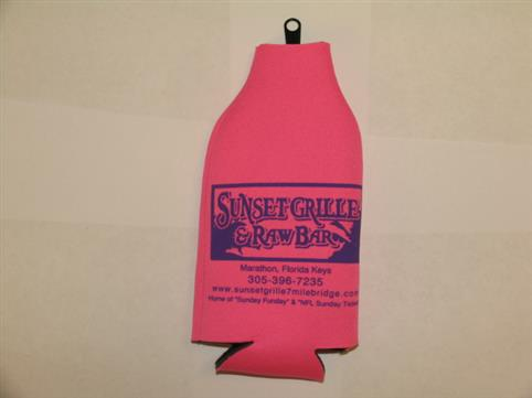 Name: Bottle Coozie - Pink