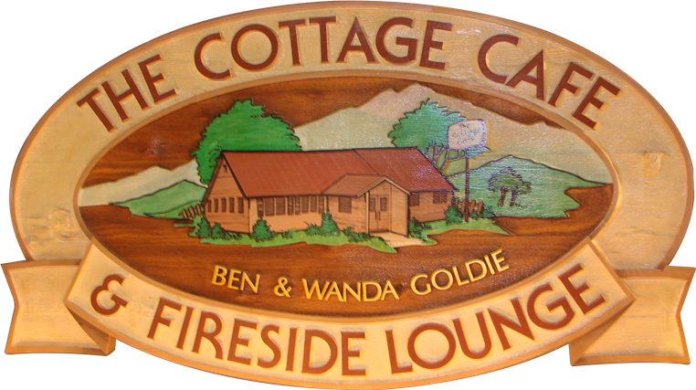 the cottage cafe and fireside lounge ben and wanda goldie