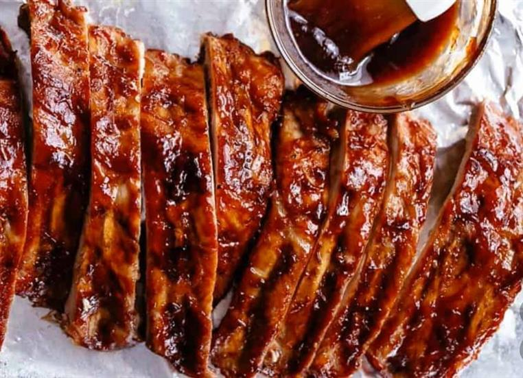 Ribs with BBQ Sauce