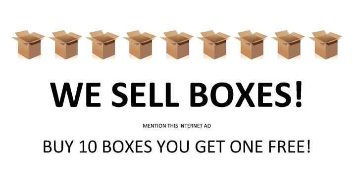 ---- WE SELL BOXES (large)