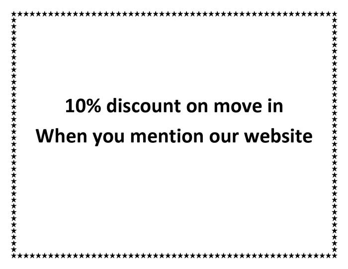 ---- 10 percent off with move in (large)