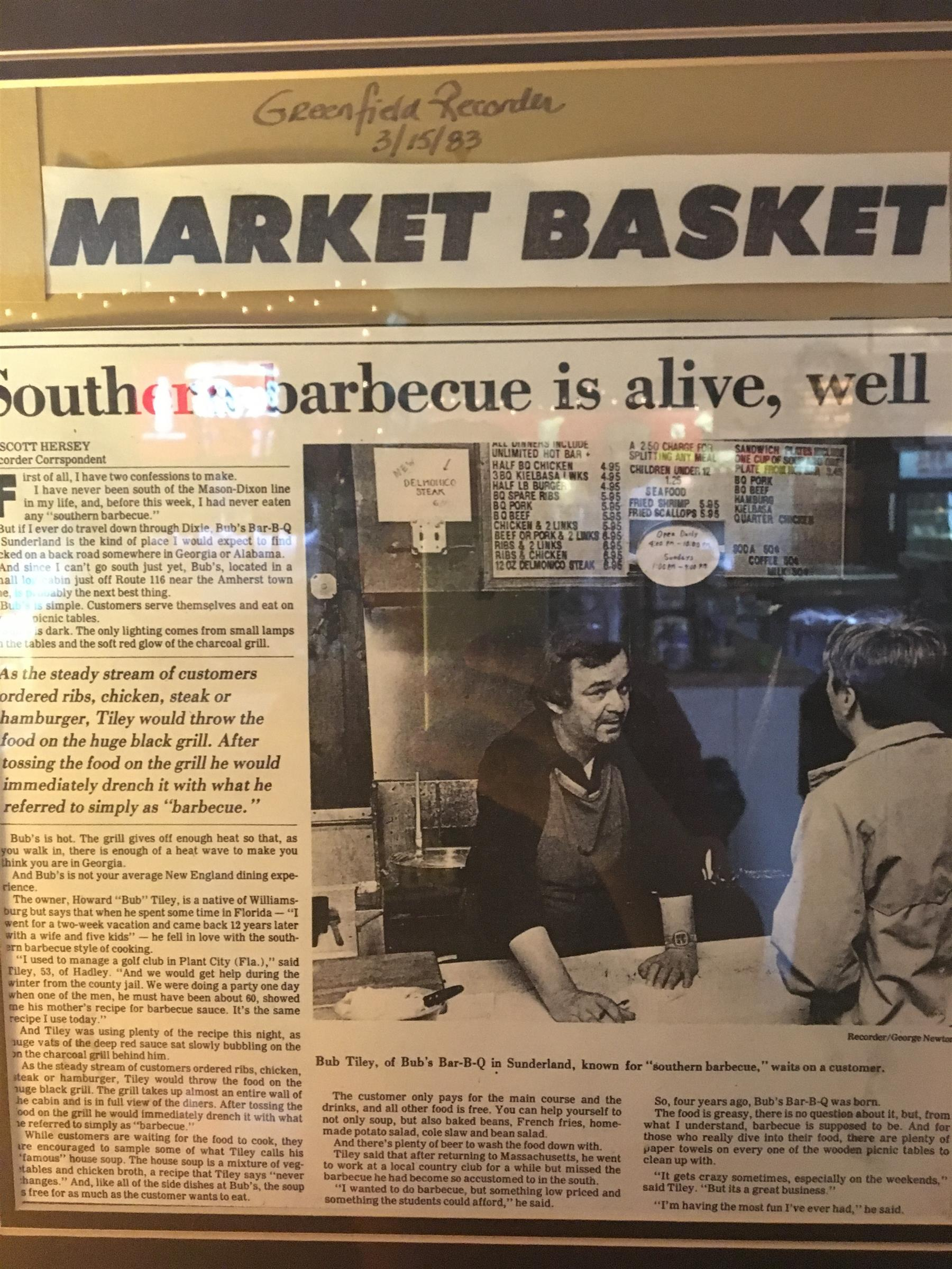 Bub's BBQ Market Basket write-up