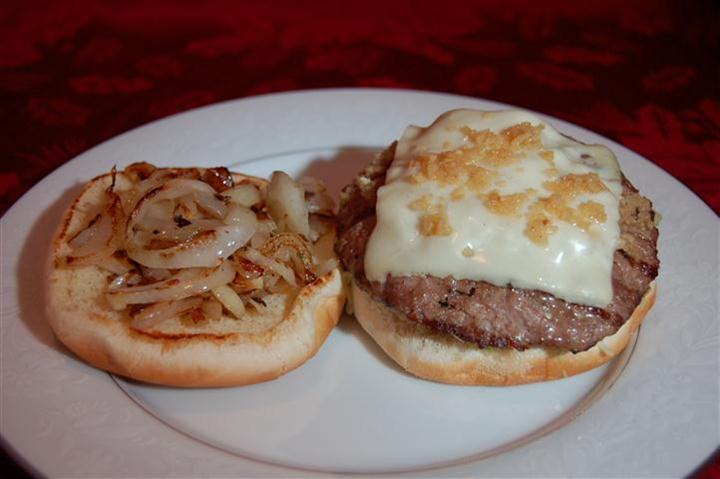 Garlic Burger