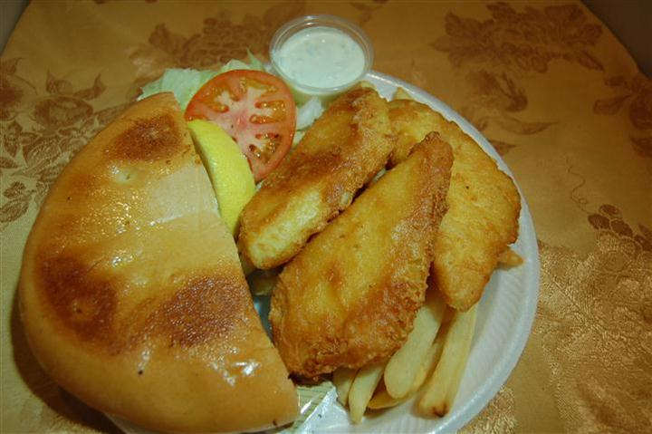 Halibut Fish & Chips