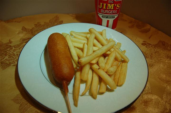 Kids Meal Corn Dog