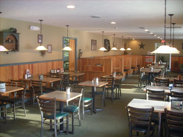 dining area inside restaurant
