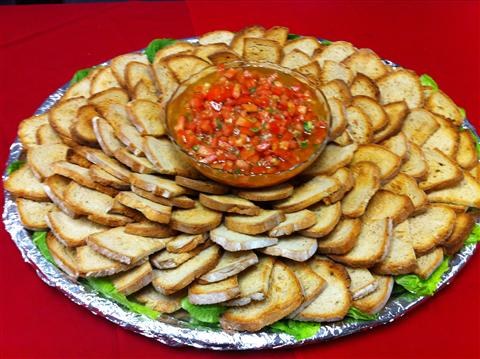 Bruschetta Catering Tray