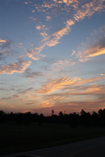 Photo of sunrise