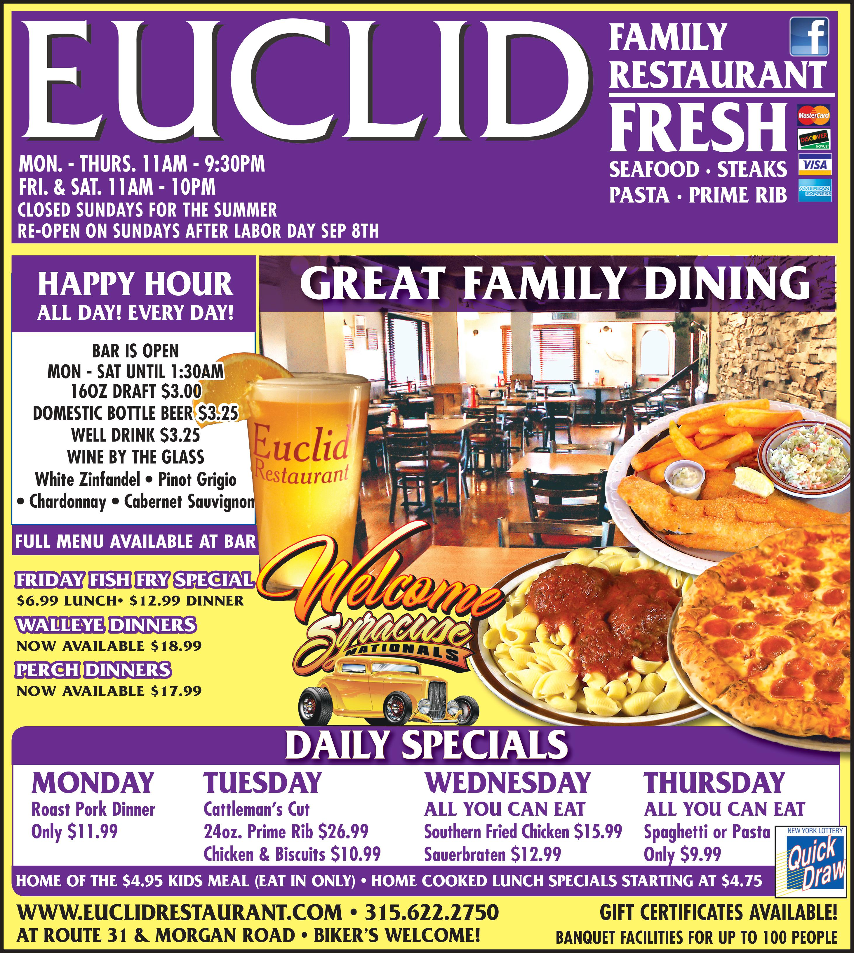 Euclid July Monthly Ad
