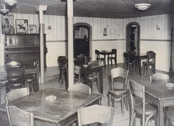 The Dining Room back in the 1980's.