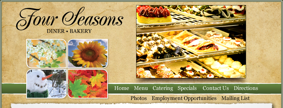 Four seasons diner catering summary this content requires the adobe flash player click here to get flash mightylinksfo