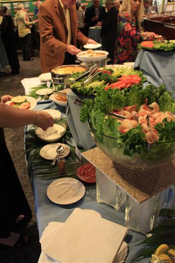 finger food catering station