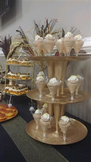 catering dessert station
