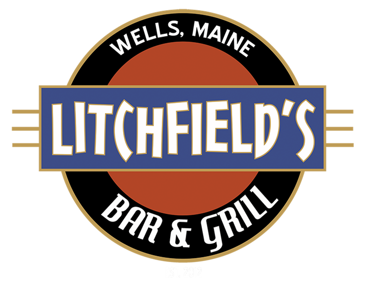Litchfields bar and grill. Wells, Maine. Established 2012.