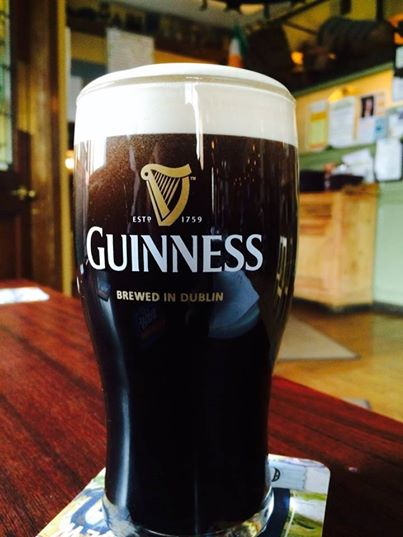 pint of guinness beer