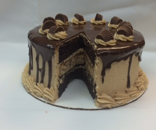 Reeces peanut butte rcup cake