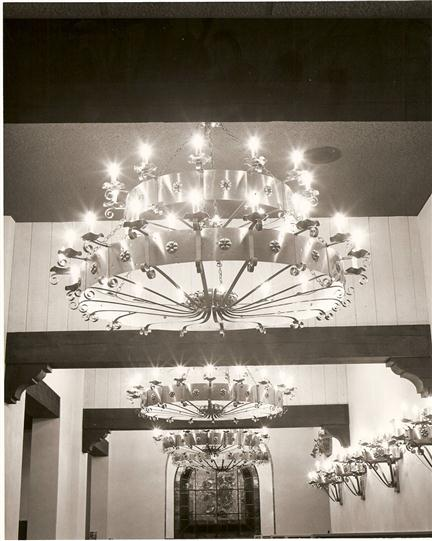 vintage interior shot of tico's restaurant