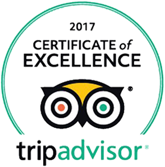 2017 Certificate of Excellence - Trip Advisor