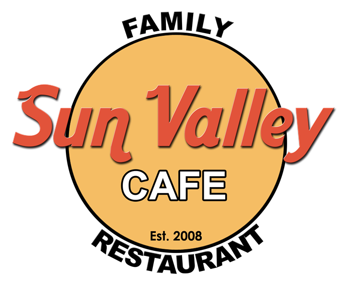 Sun Vally Cafe. Established 2008. Family Restaurant.