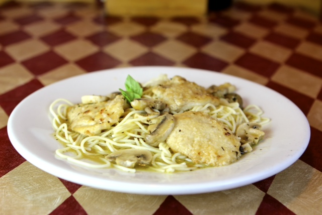 pasta with lemon chicken