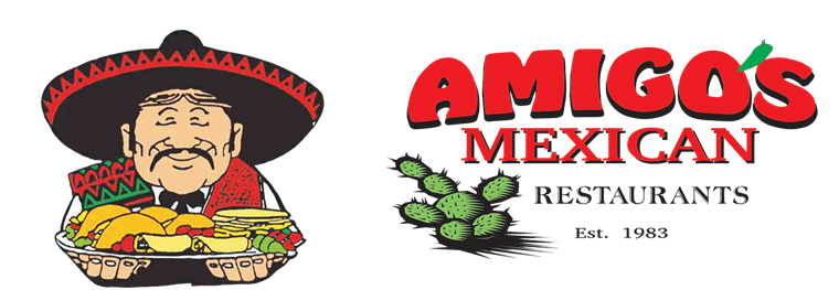 Amigo's Mexican Restaurants. Established 1983.